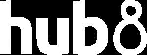 hub8_Logo_white